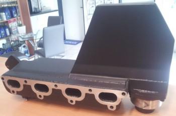 Edelstahl Auspuffkrümmer für Volvo Penta AQ171 / AQ251 Ref.: [85